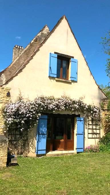 Dordogne Valley, 17th Century stone cottage - Coux et Bigaroque - House