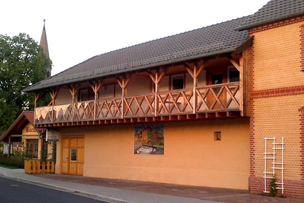 1 A Ferienwohnung Goller Haus Hammermühle 2-4 Pers - Senftenberg - Appartement