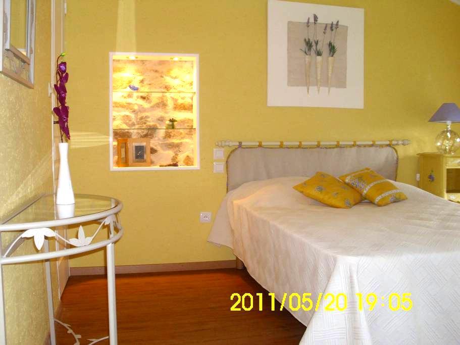 """Ravissante chambre d'hôtes """"MISTRAL"""" - Saint-Pal-de-Chalencon - Guesthouse"""