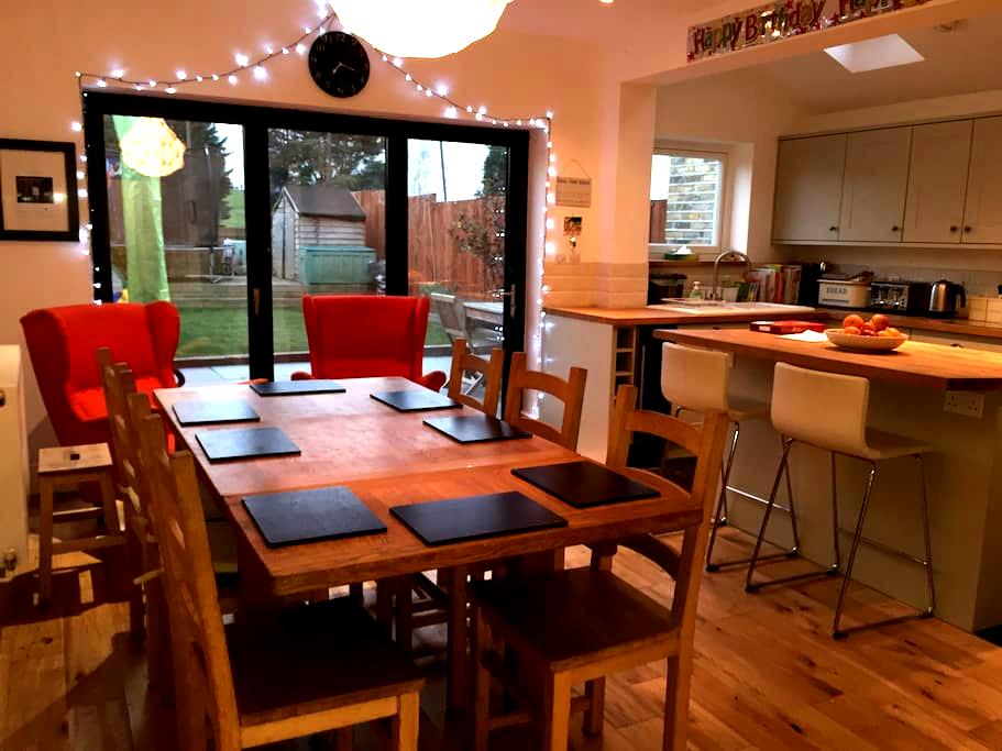 Spacious 4 bedroom house in Nunhead - Nunhead  - Dom
