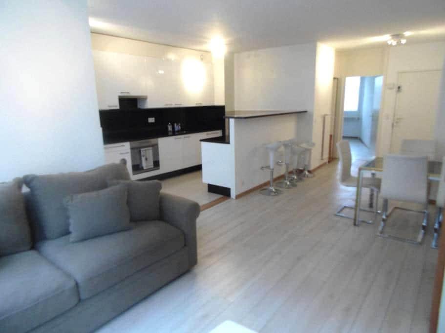 Spacieux appartement à 2 pas du lac - Genève - House