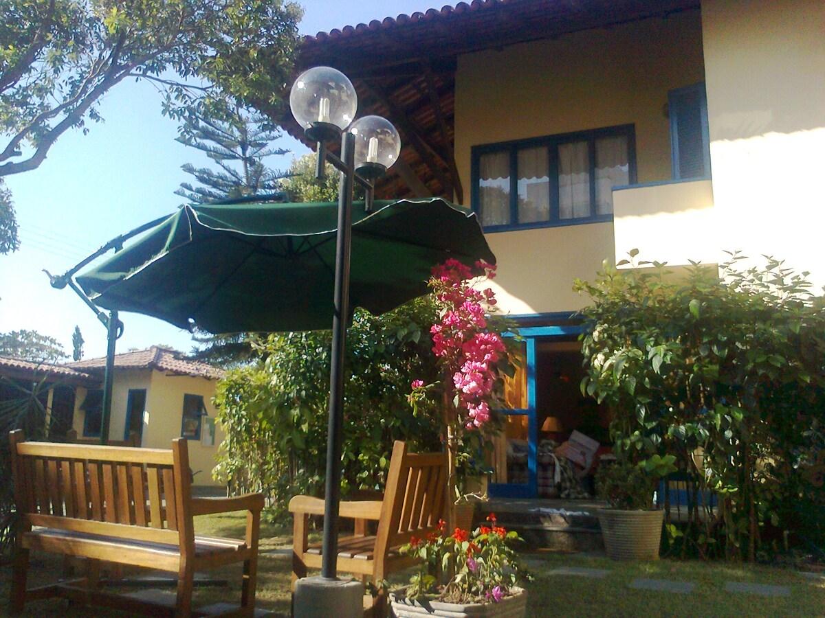Beach house at the Enseada Azul