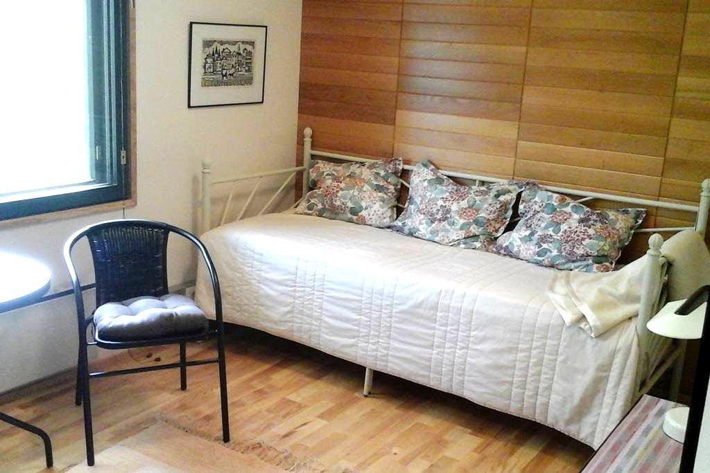 Siipirakennus, huone A - Savonlinna - Apartemen
