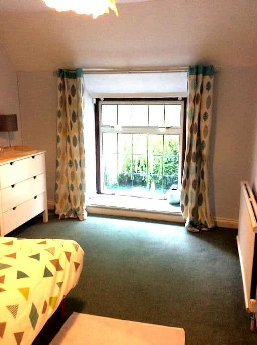 Double Room With Private Bathroom & Kitchen self c - Radstock - Huis