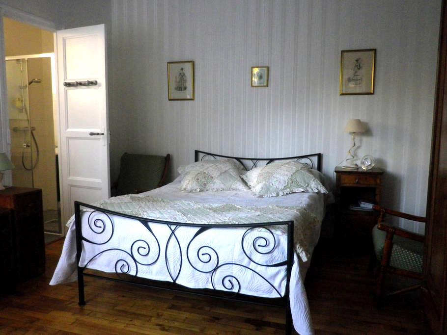 Chambre calme sur jardin - Saint-Malo