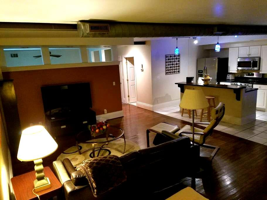 Soho loft in Cincinnati. Close to UC and hospitals - Cincinnati - Hus
