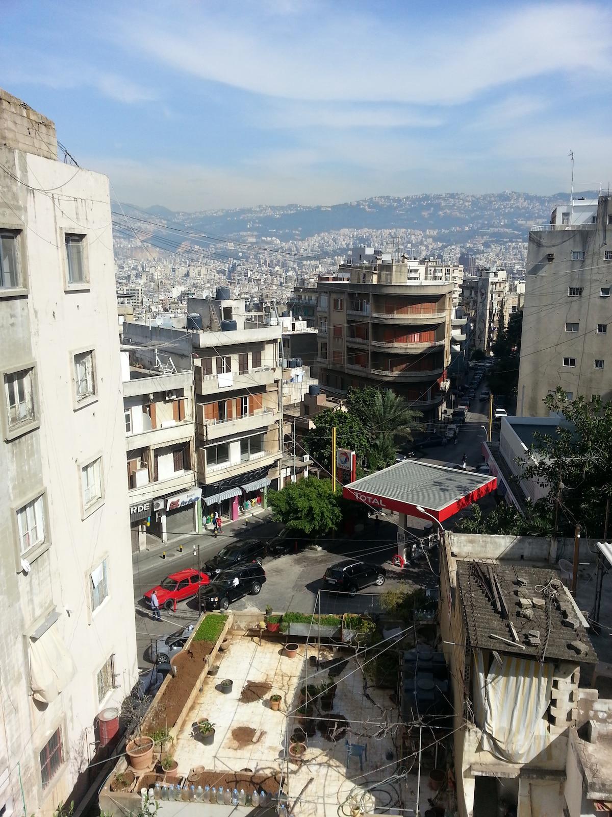 Special room & balcony in Ashrafieh