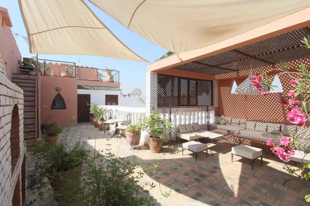 Terrace Room Central Riad Medina