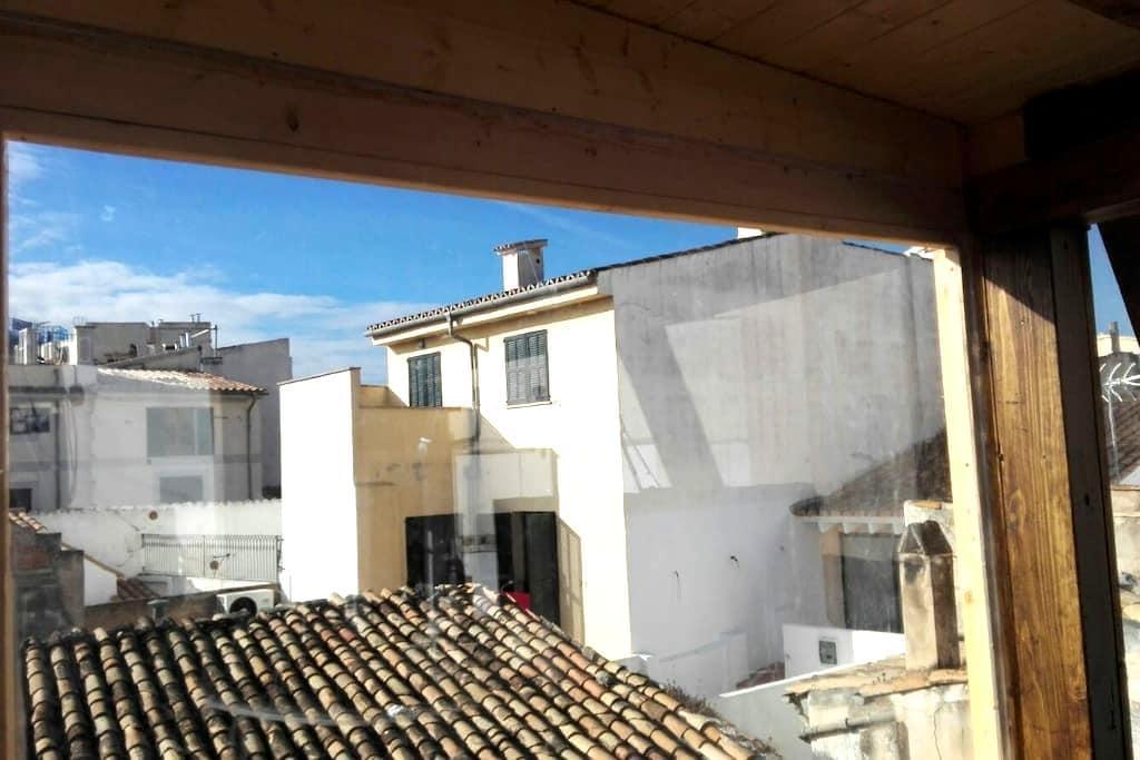 Splendid loft with terrace old town - Palma