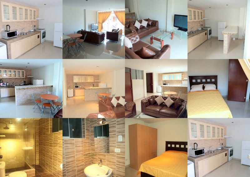 Fully furnished beautiful apartment, 10 minutes from Miraflores
