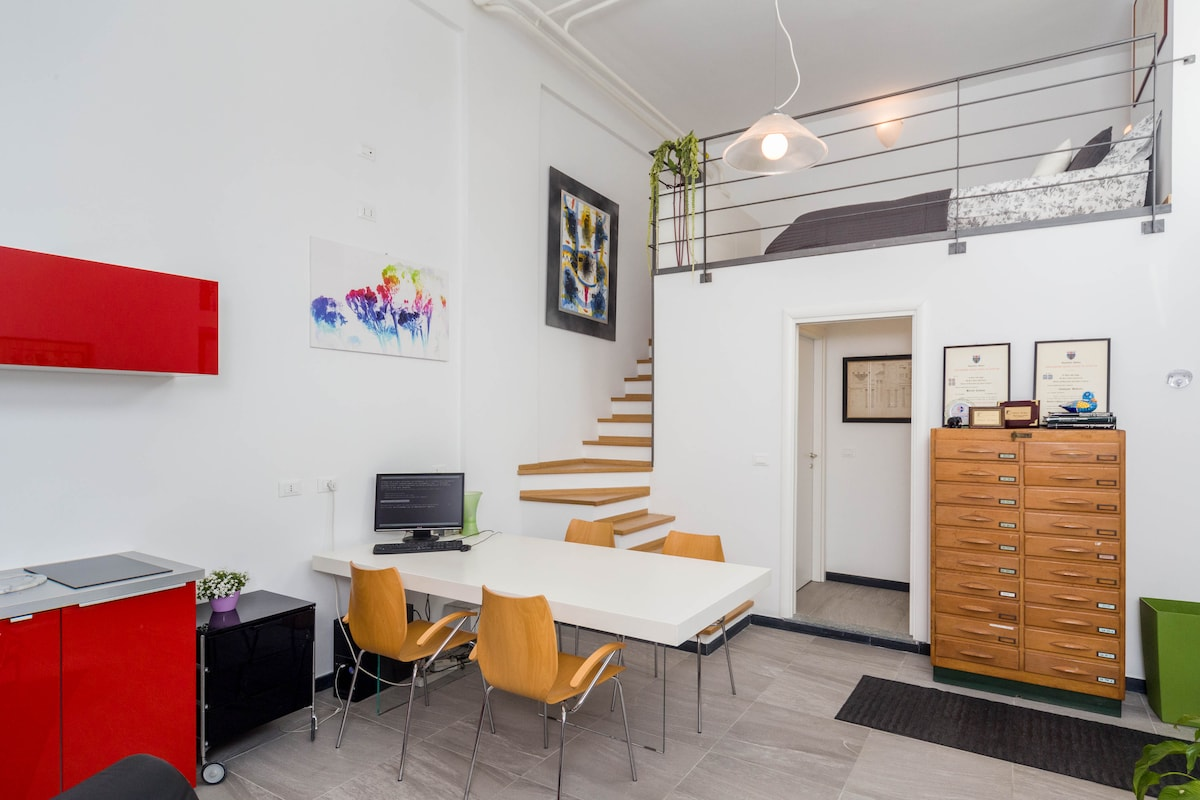 BI-HOUSE  Loft Unconventional Style