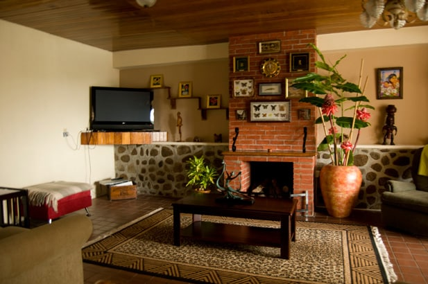 Tv Room / Fire Place