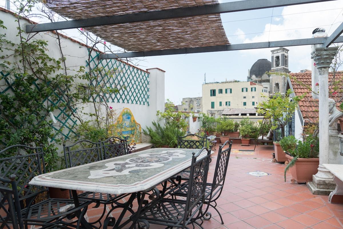 Terrazza Duomo Lofts For Rent In Naples