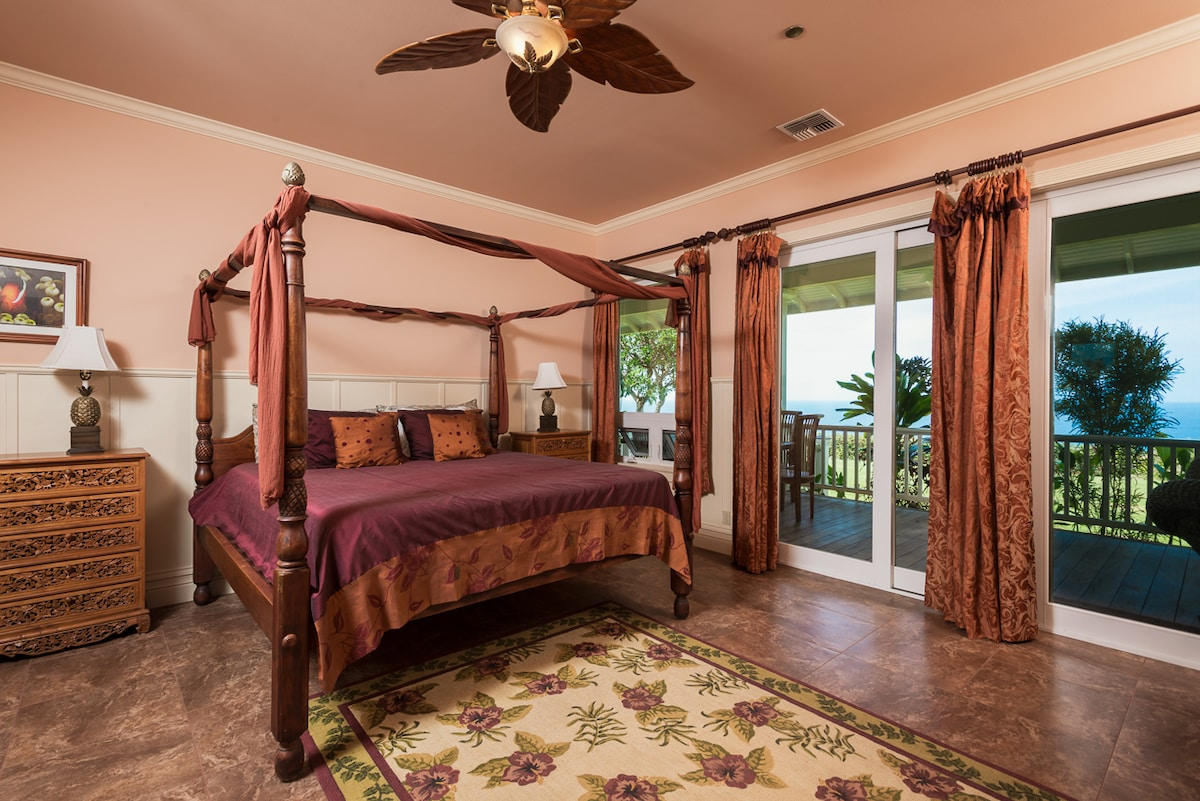 Master Bedroom - Private 6 acres