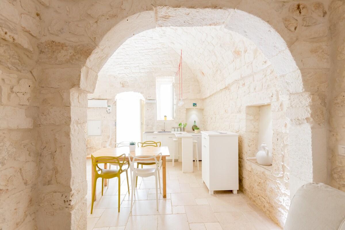 Design stone house  in Ostuni