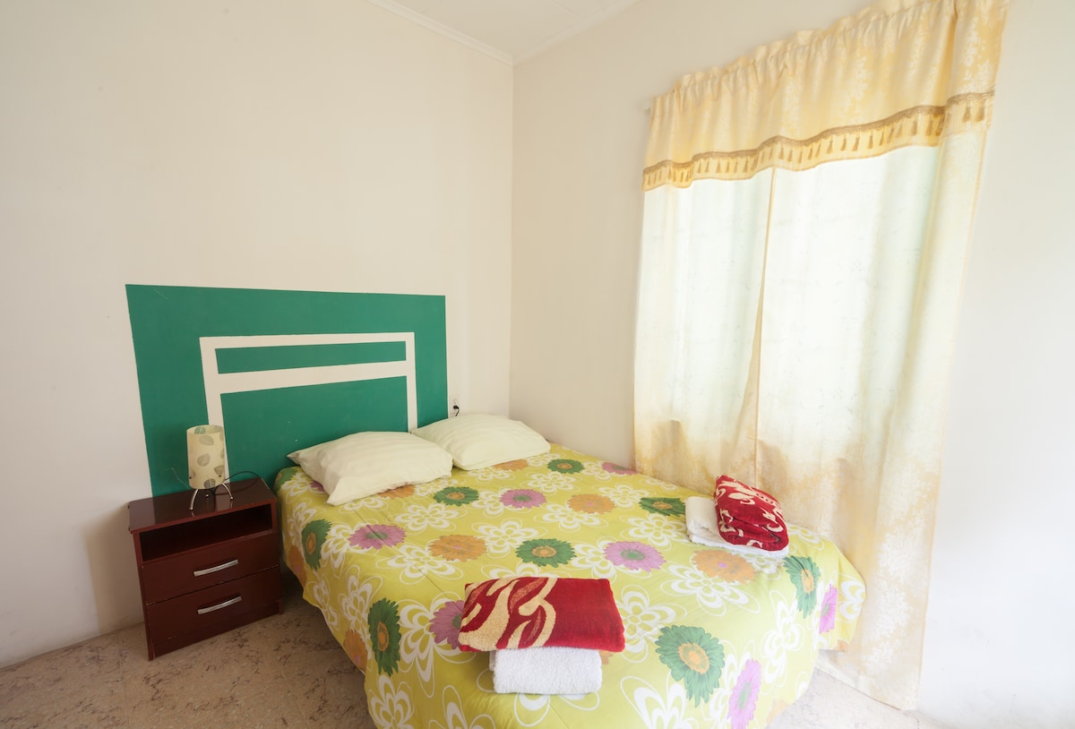 2 Airco bedrooms, each with a double bed 1.40x2.00 mtr.
