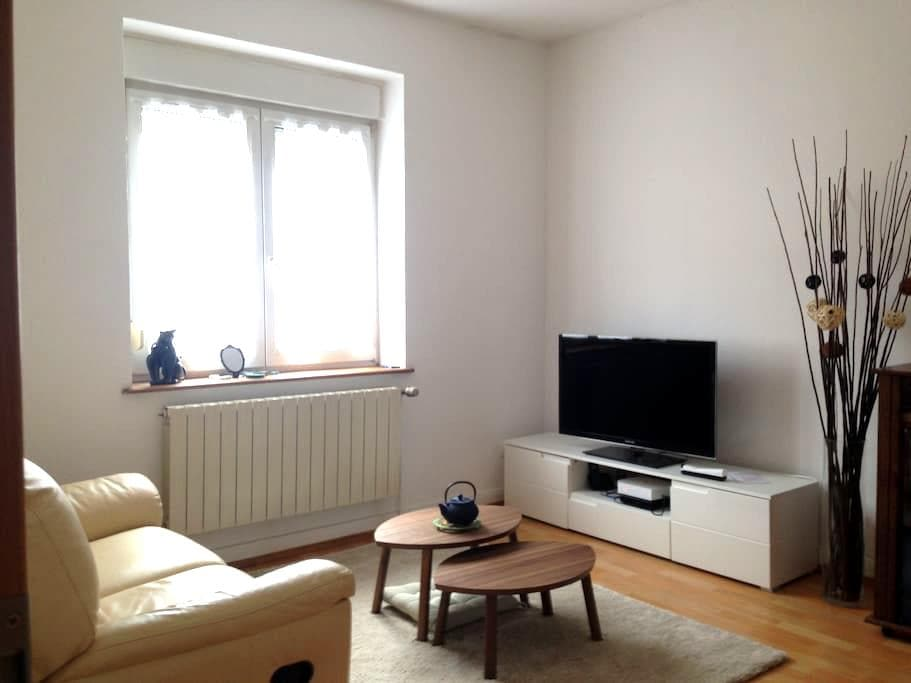 Spacious Private Full Apartment - Rédange - Appartement