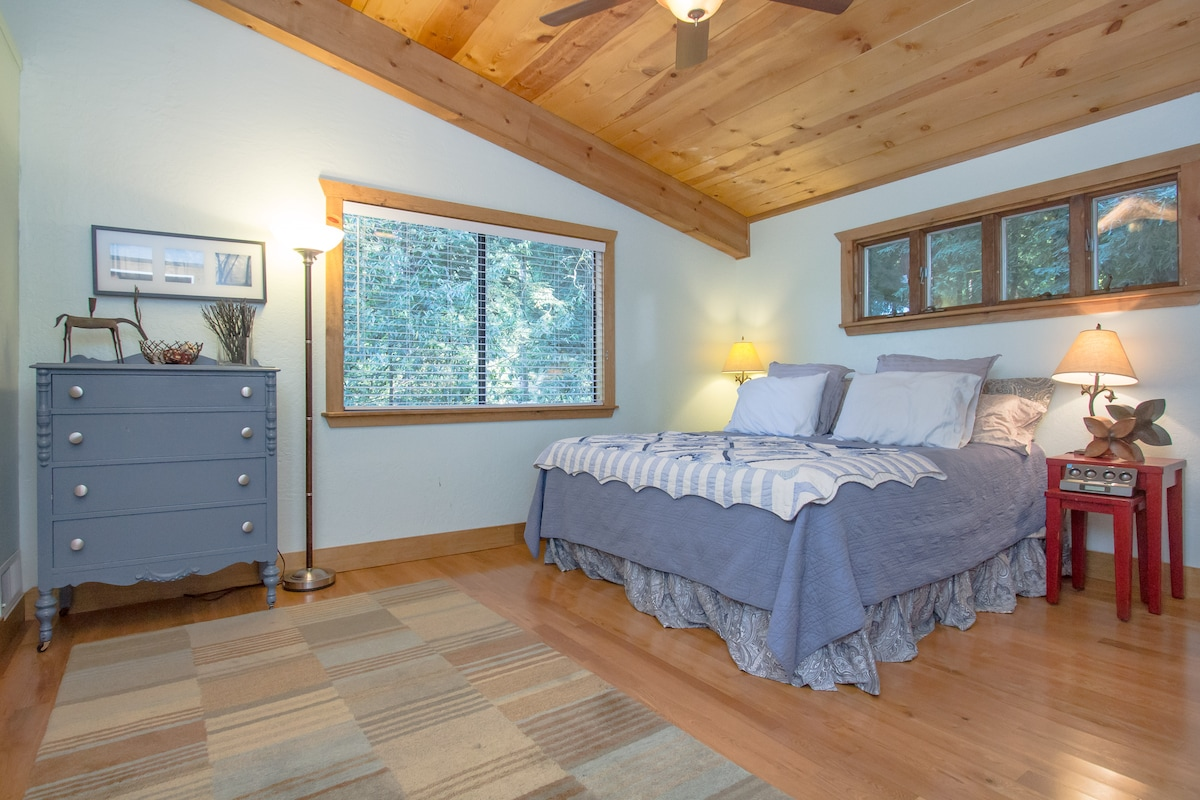 Relax in the master bedroom!