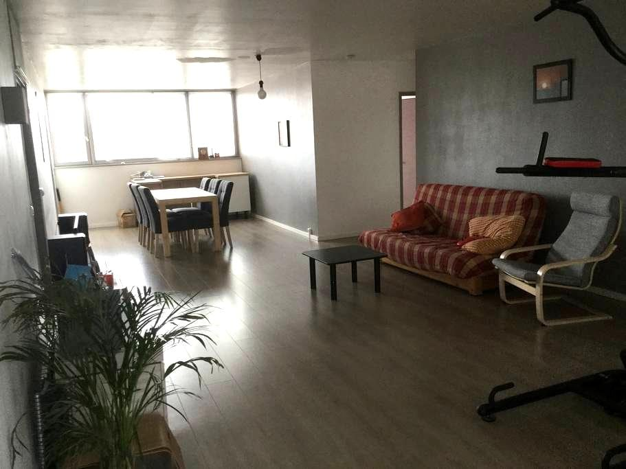 Chambre tout confort avec parking - Croix - Appartement