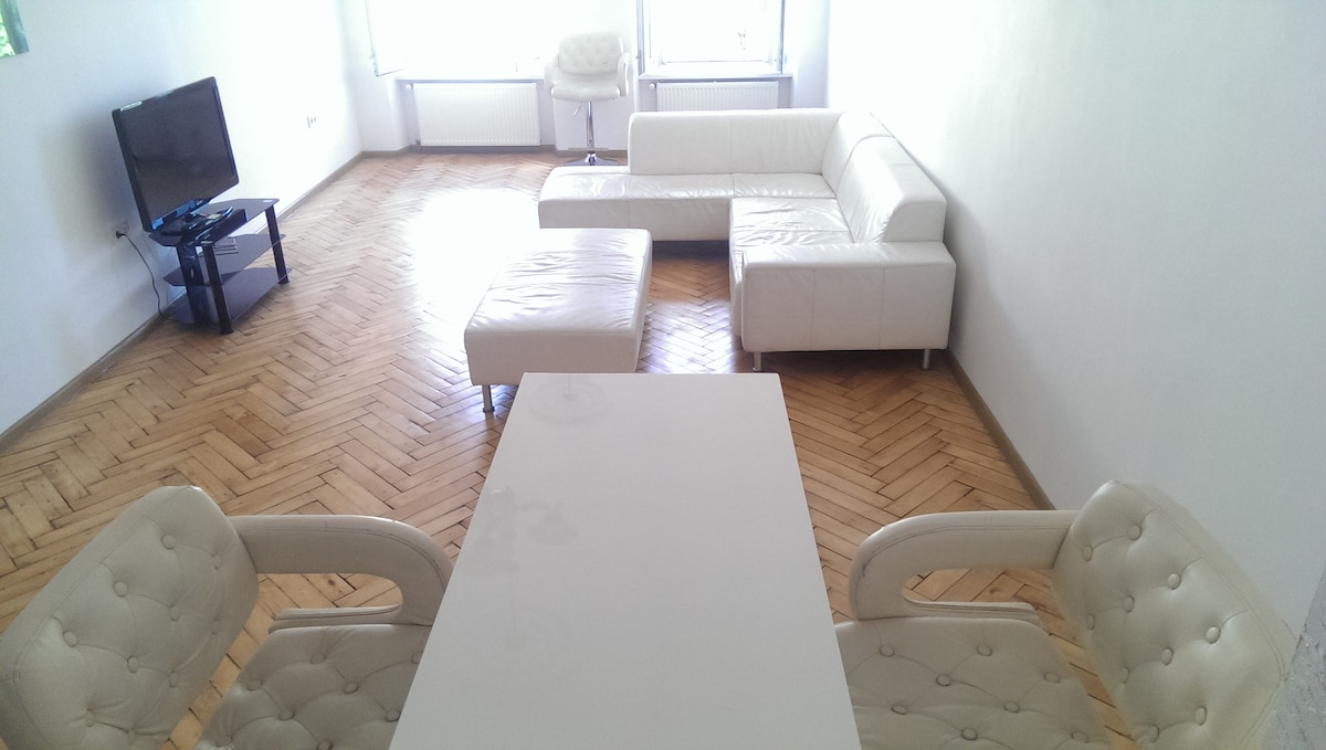 Nice big room to entertain guests