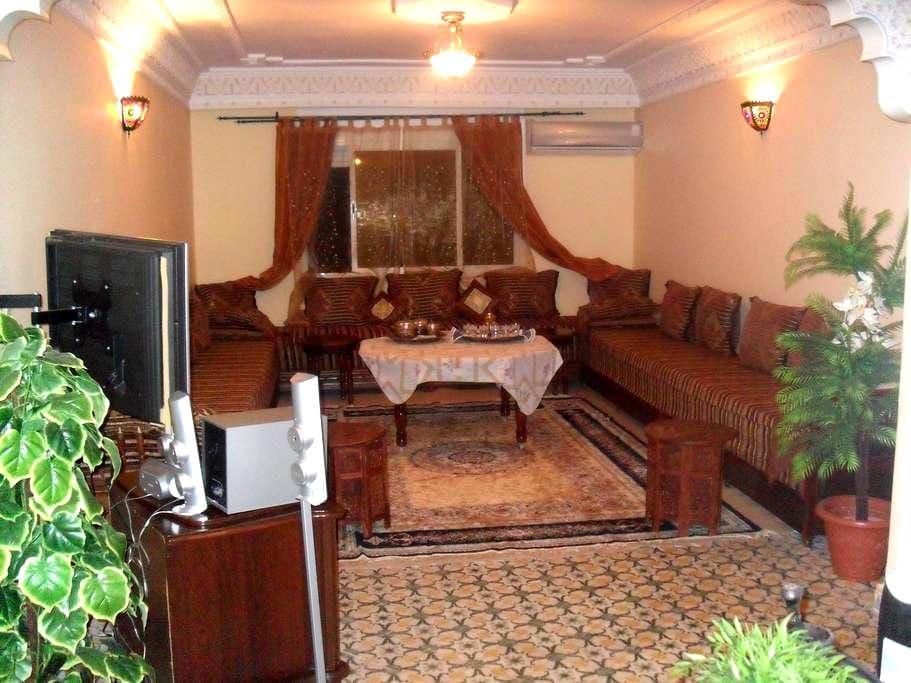 Appartement spacieux et calme - Meknès - Appartement