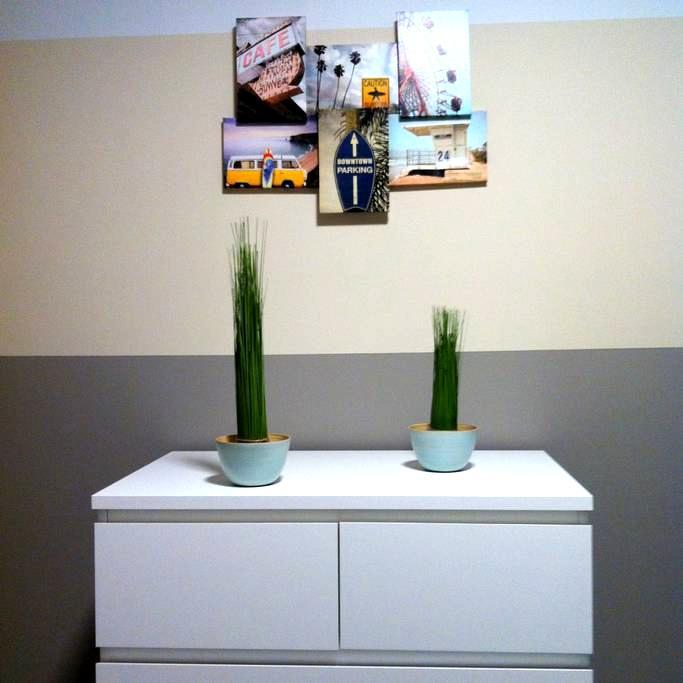 Modernes Zimmer - Strandhaus-Flair - Norderstedt - タウンハウス