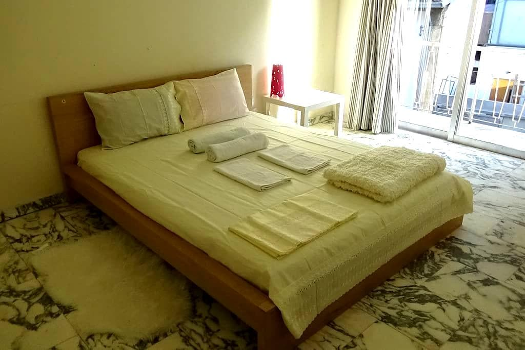 1 bedroom studio apartment in Nicosia City Center - Nikozja - Apartament