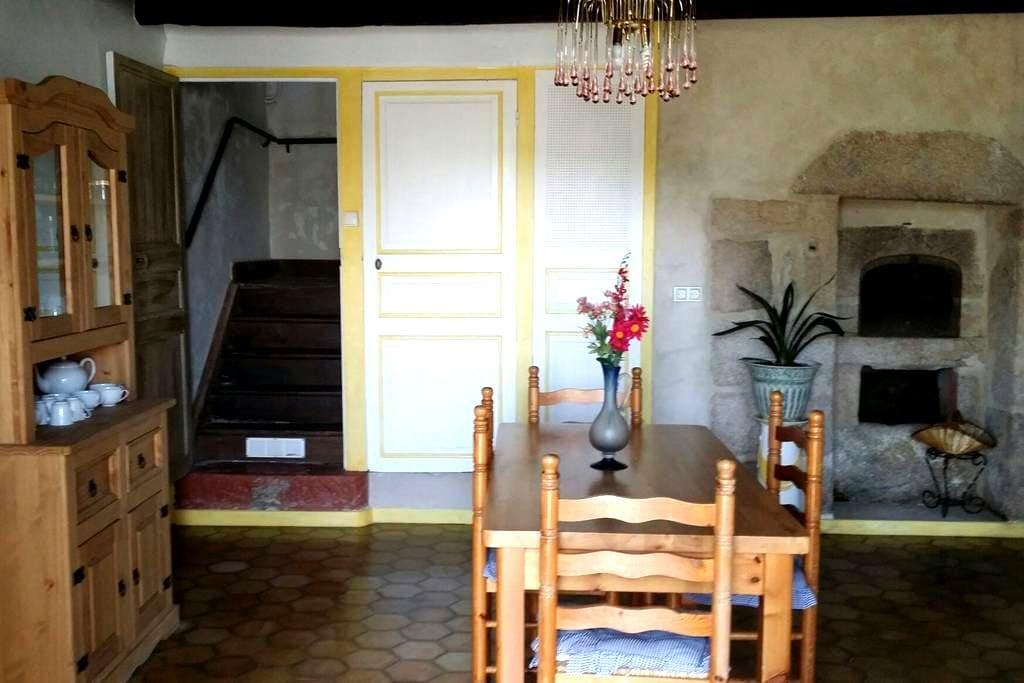 Maison typique creusoise - Saint-Goussaud - Hus