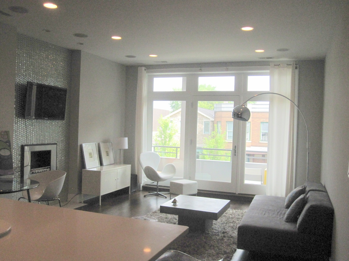 Bucktown Ultra Modern Room in Condo