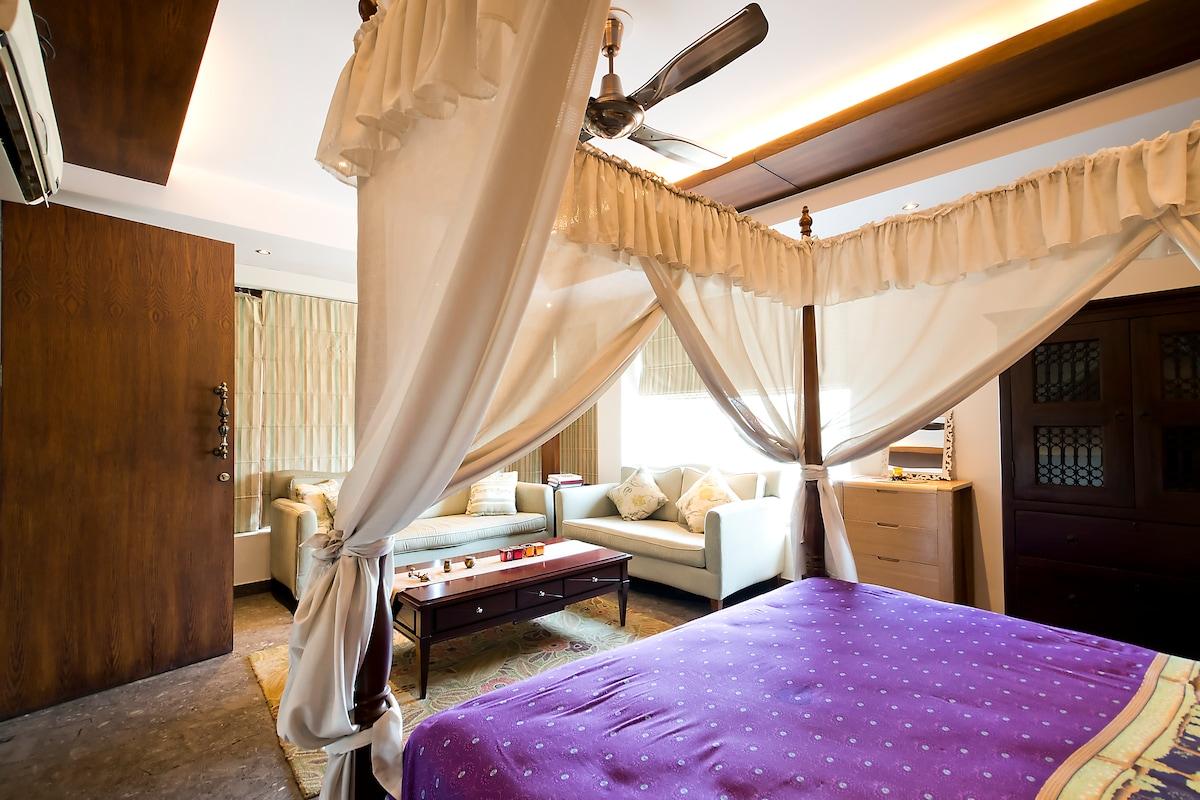 Bedroom with Pool & Terrace garden