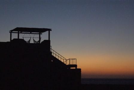 Sunset at Maritas Casita...