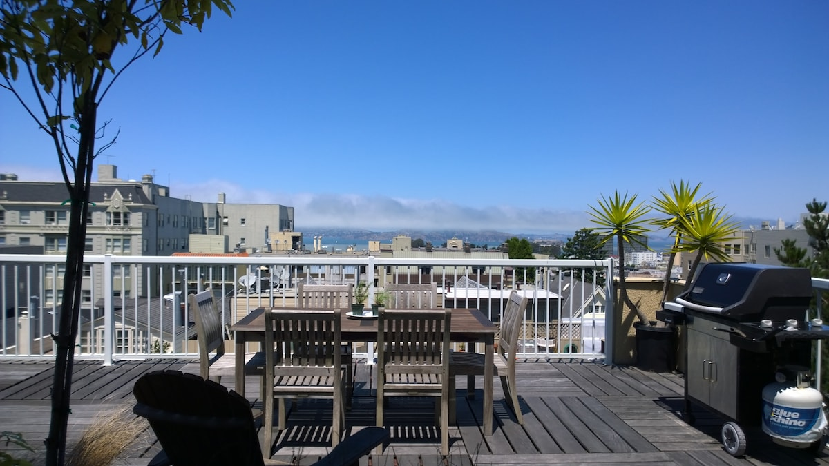 Sunny 1 bedroom with bay views!