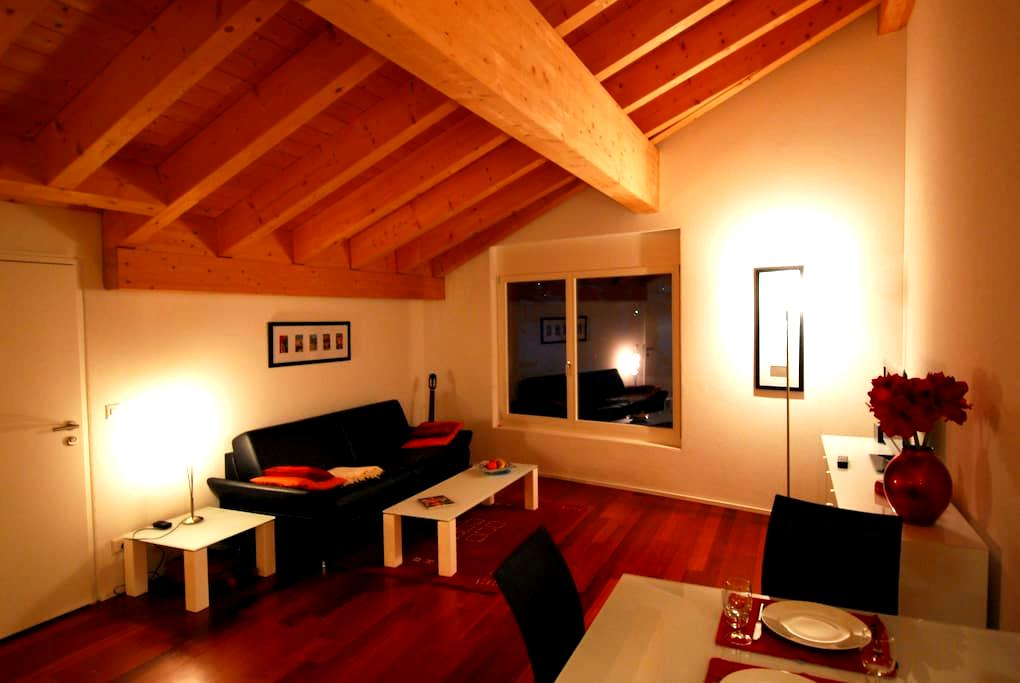 Modern one room studio with a view - Klosters-Serneus - Appartement