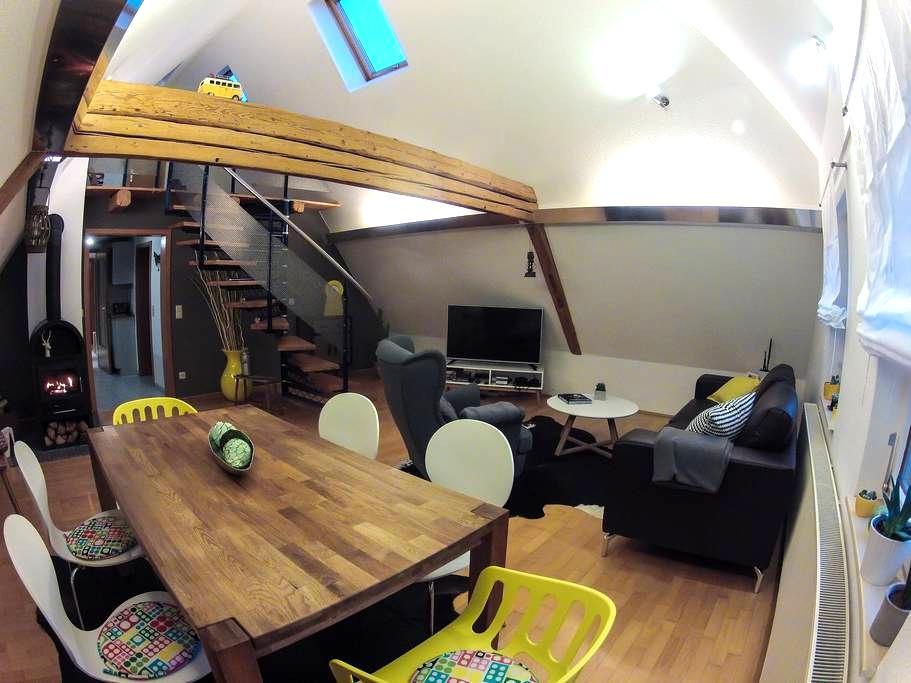 Ferienwohnung Bach+Bett - Freudenstadt - 公寓