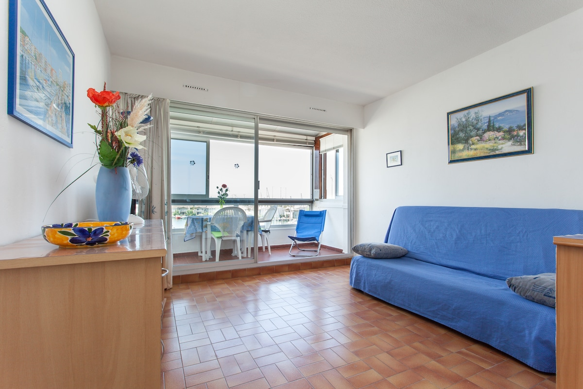 Rent studio in Cap d'Agde