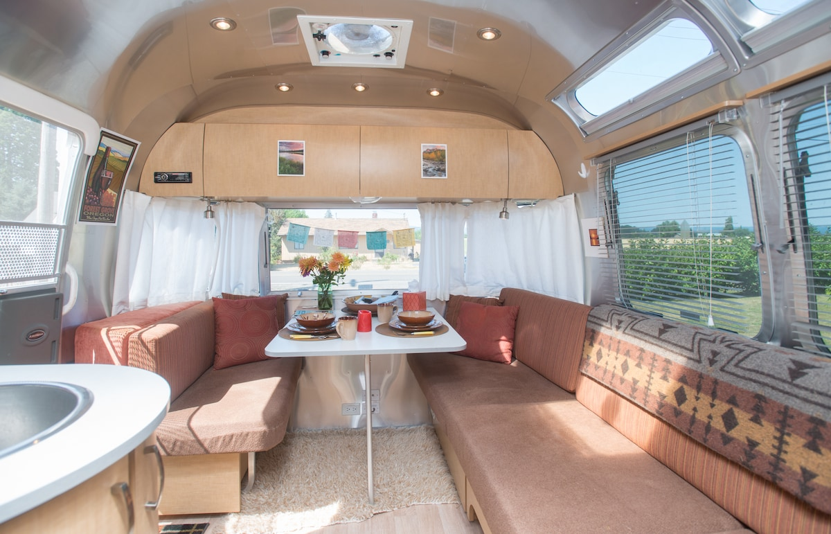 Airstream Adventure in Wine Country