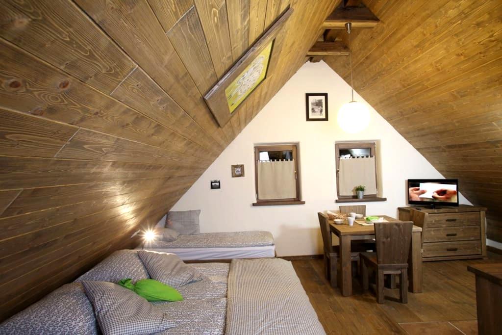 Studio 1/4 attick Pannonian village - Moravske Toplice