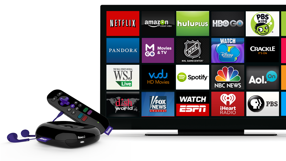 Roku TV! Full access of Netflix, Amazon Prime, Hulu Plus and much more!