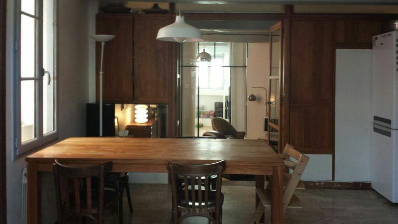 La cuisine salle à manger