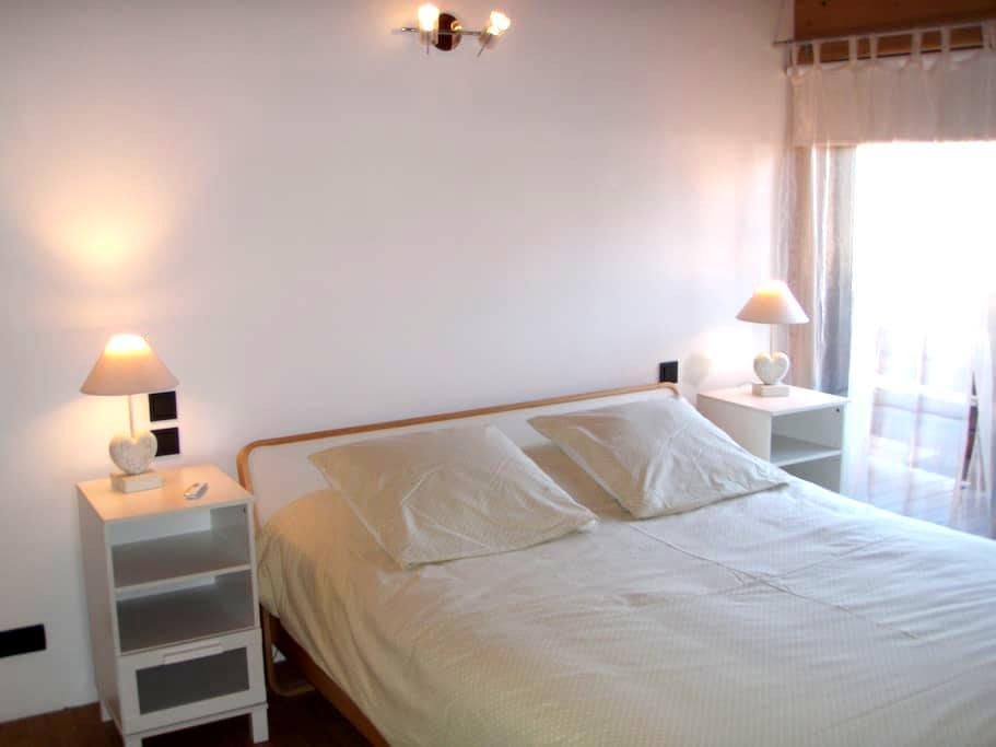 double bedroom with shower - Saint-Jean-de-Sixt - Hus