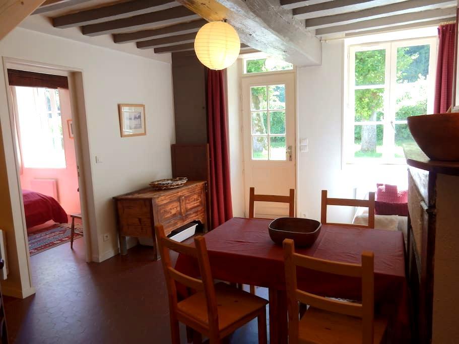 logement de charme au coeur de la forêt - Vieux-Moulin - Rumah