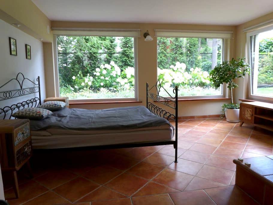Special double room in a garden - Breslávia