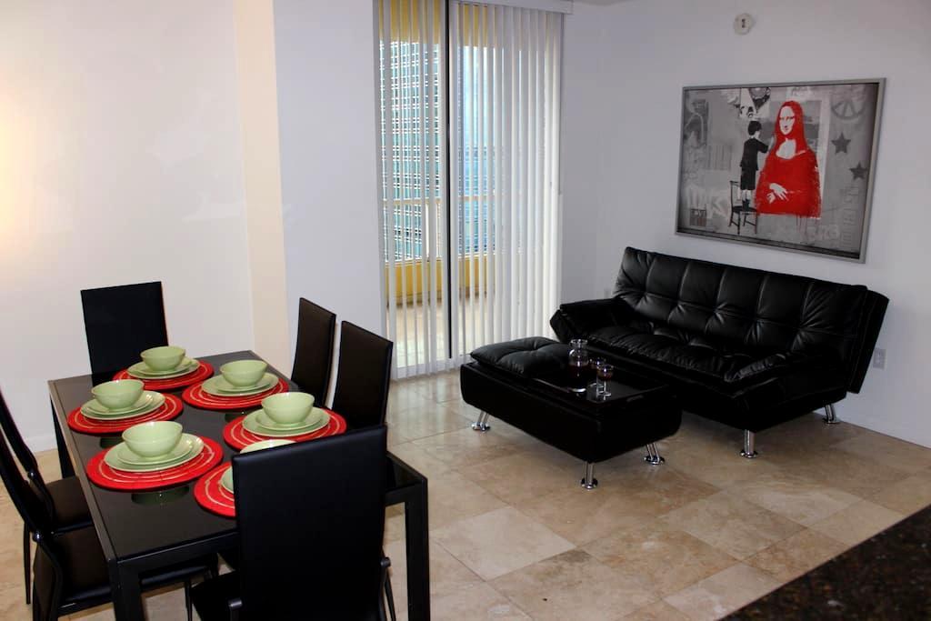 BRICKELL-MIAMI 1/1  FREE PARKING - Miami - Apartment