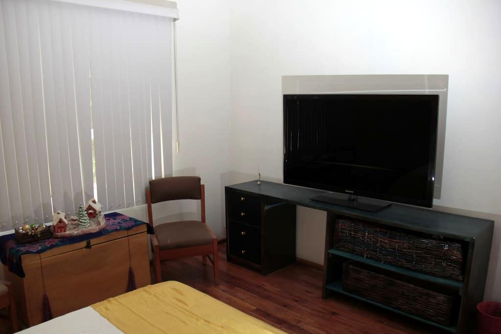 Medium room with  a Van Gogh picture. - Cidade do México - Casa