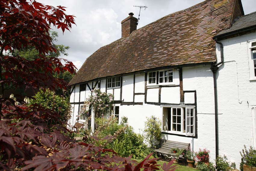 A Beautiful Tudor Cottage with an award-winning cottage garden in a pretty English market town