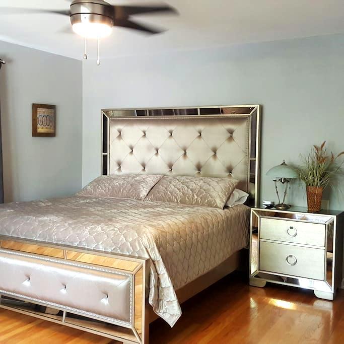 Traveling Executive, King Bedroom, 2nd & Bath ! - 艾伦镇(Allentown) - 独立屋