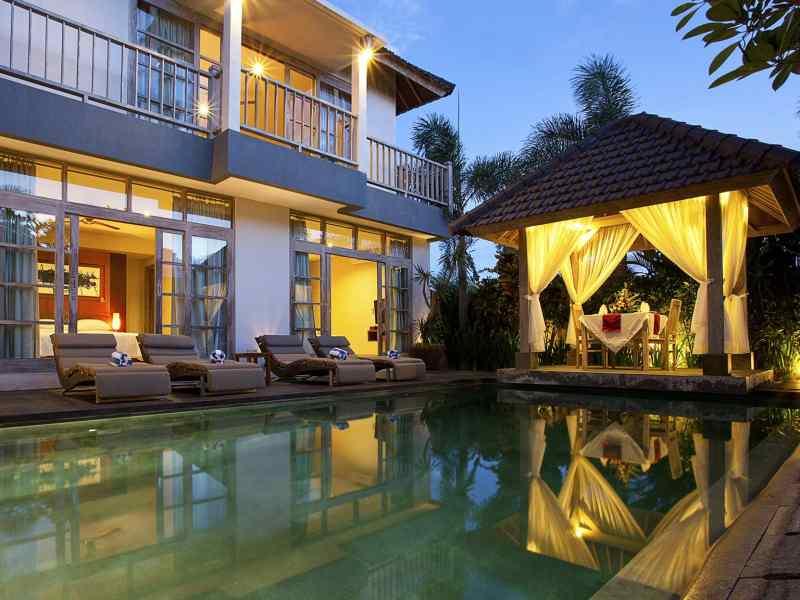luxury villas in canggu