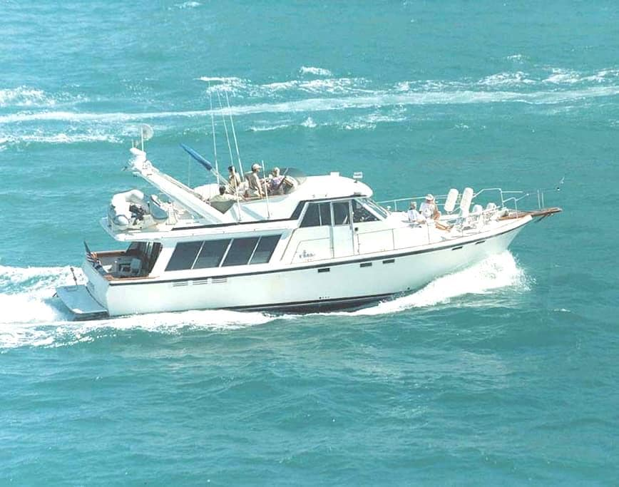 "Welcome Aboard  46' Classic Motoryacht "" Seatrek"" - Fort Lauderdale - Boat"