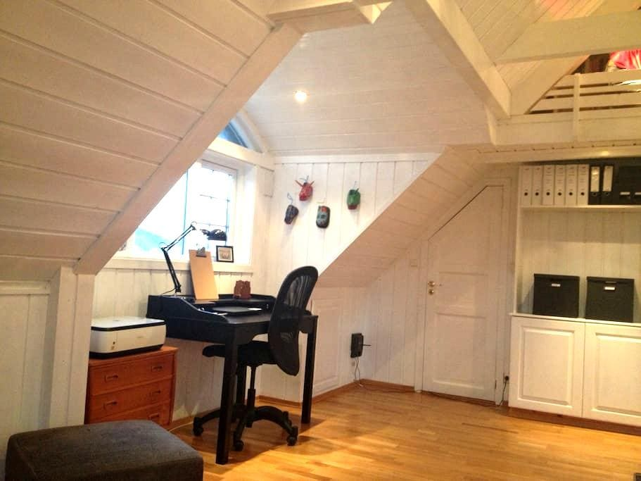Cosy loft studio apartment! - Drammen