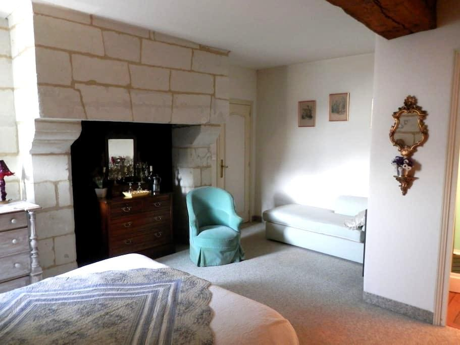 chambre privée MONTSOREAU - Montsoreau - Bed & Breakfast